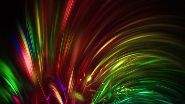 fe54b6112fdaf Fractale abstrait couleur lignes full Hd — Vidéo panzer25 ©  184148338