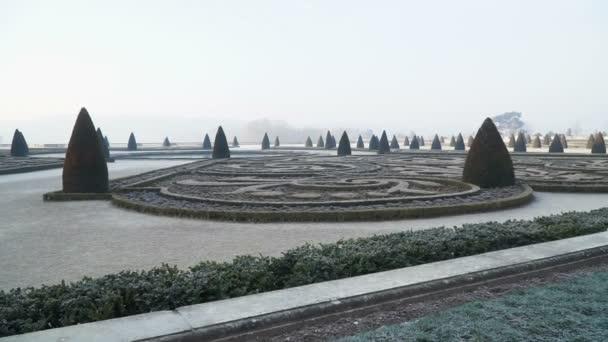 Pohled ze zahrady Zahrady Versailles