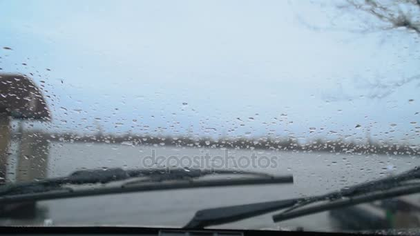 Stěrače na auto čištění déšť ze skla