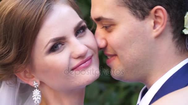 nevěsta a ženich detail