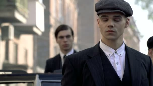 Zwei gefährliche Gangster der 1920er Jahre