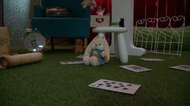 Stanza Dei Giochi Bambini : Stanza dei bambini per i giochi in stile nel paese di alice nel