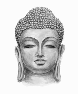 Head Smiling Buddha