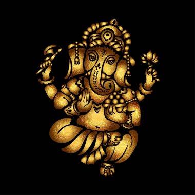 Gold Ganesha 23