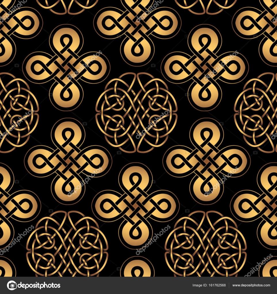 Motif Celtique Nordique Image Vectorielle Yulianas