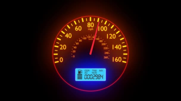200 Kph To Mph >> Speedometer Fast Car Automobile Speed Dashboard Accelerate Mph Kph Light 4k