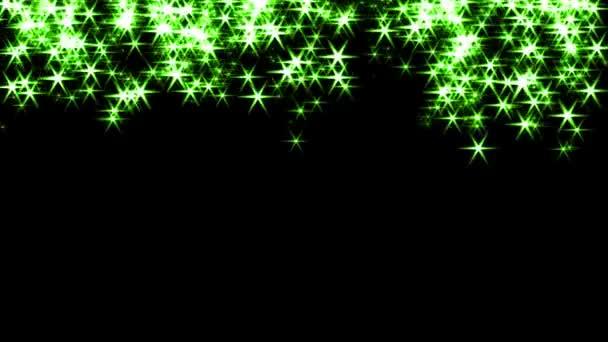 Magic jiskří víla prachu hůlka částic stopu přechod 4k