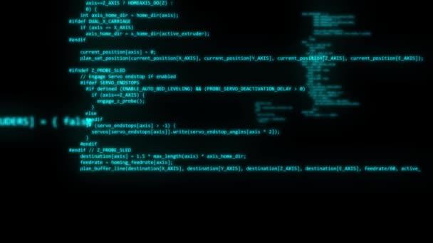 Codice di programmazione del computer digitando hacker programmatore programmatore applicazione app 4K