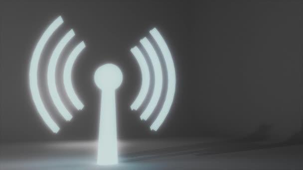WiFi wireless Internet Netzwerk net Web Verbindung Symbol Logo wi-Fi WLAN 4k