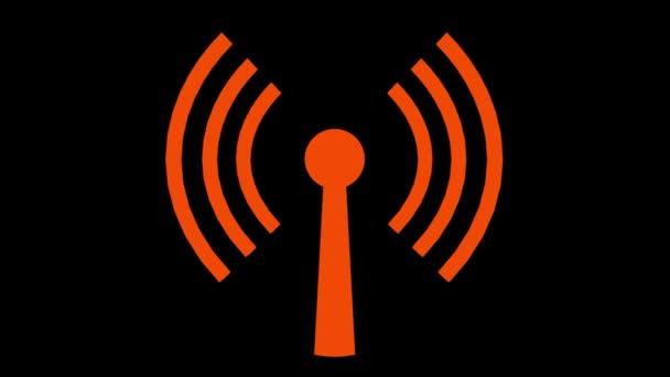 wifi wireless internet network net web verbindung symbol logo wi-fi wi fi 4k