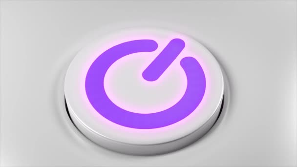 Power-Taste ausschalten Technologie Smartphone Computer-TV-Gerät 4k