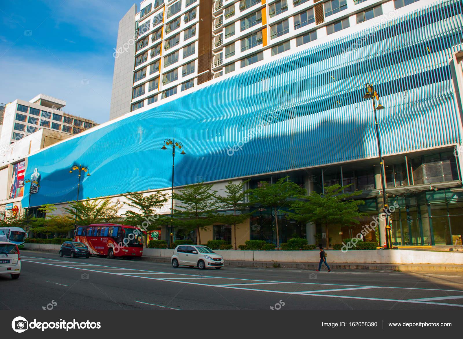 Schönes Gebäude Mit Einer Modernen Fassade Kota Kinabalu Sabah