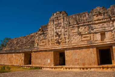 Ruins of Uxmal, an ancient Maya. One of the most important archaeological sites of Maya culture. Yucatan, Mexico