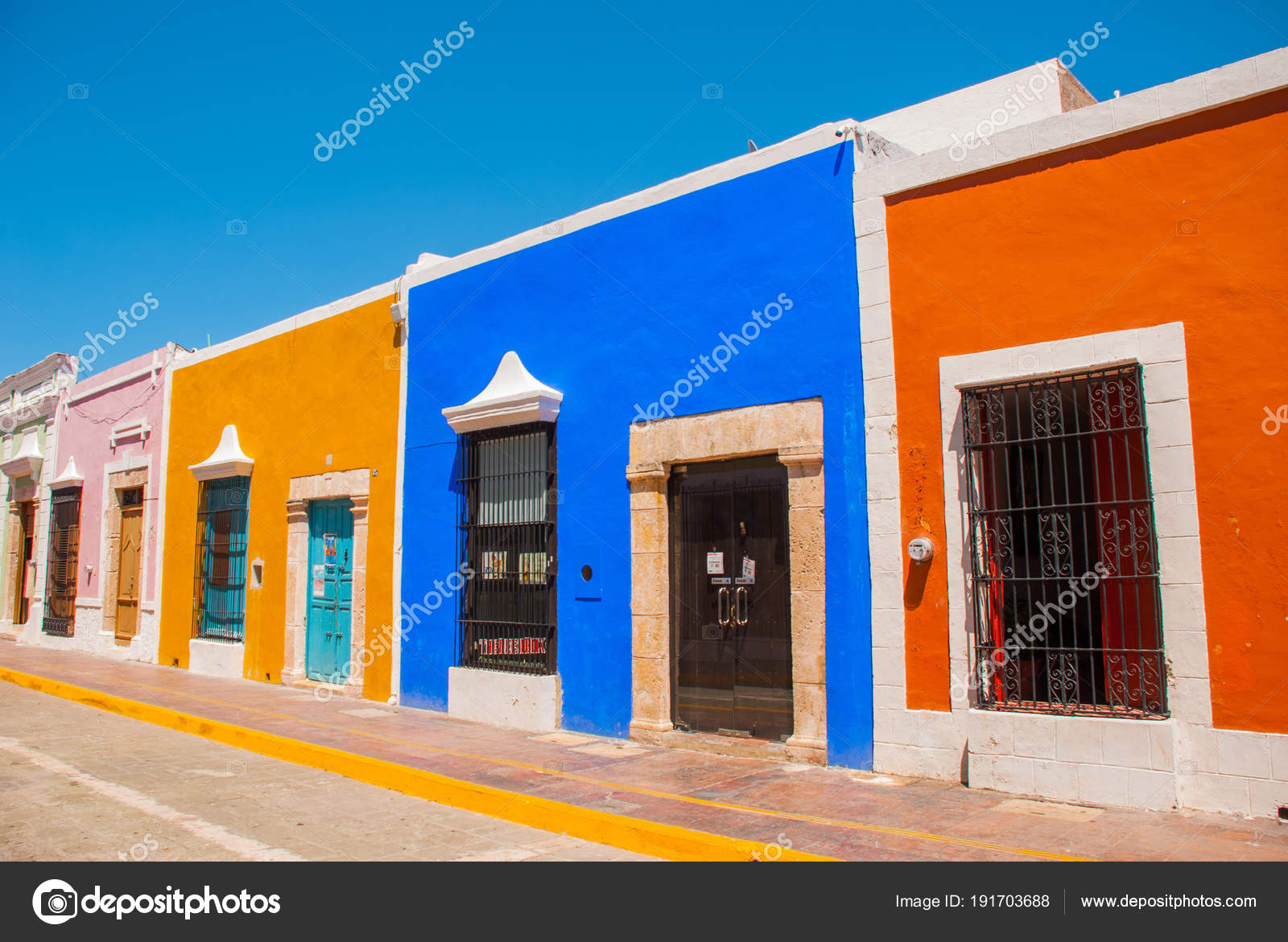 Fachadas Coloridas Arquitectura Arquitectura Colonial De San