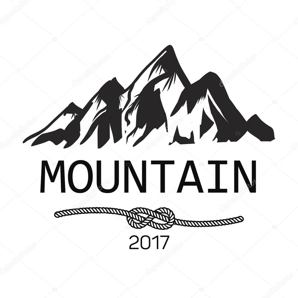 山のアイコン白黒山ロゴ ストックベクター Blog10yandexru 126346102