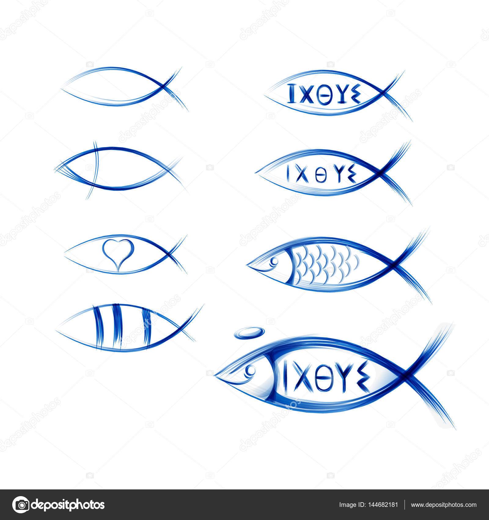 Watermarks of ichtys — Stock V...