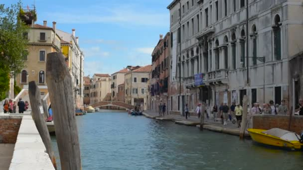 egyik csatornája, Velence, Olaszország