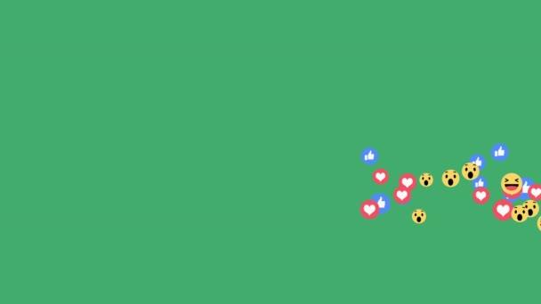 živé reakce - pozitivní pouze reakce emoji v streamování živého videa na alfa kanál