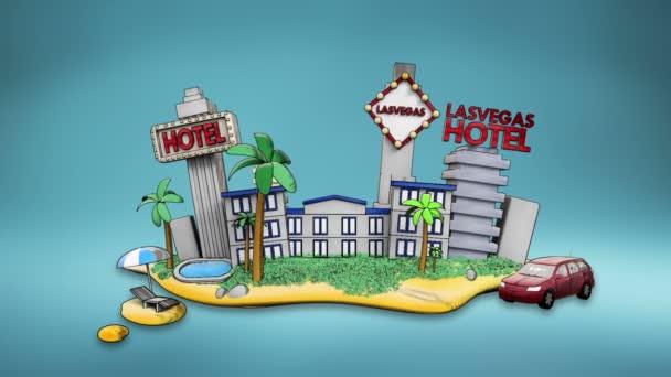 Las vagas hotel icon