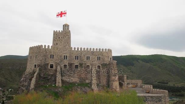 Castello medievale Castello di Jakeli in Akhaltsikhe, Castello di Rabati, Georgia. Castello di Lomisa