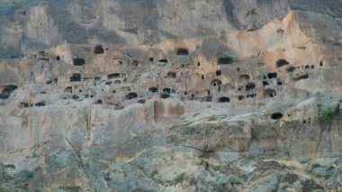 Vardzia, Georgia - 29 September, 2016: Vardzia cave monastery, complex carved in rock