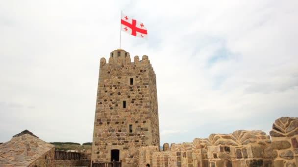 Jakeli Castle středověký hrad v Akhaltsikhe, hrad Rabati, Gruzie. Lomisa hrad