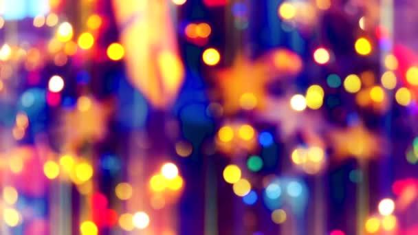 Třpytivé Zavřít vánoční stromeček světla. Mnoho světel na jedle Strom Nový rok a vánoční ozdoby stromků. Krásné slavnostní pozadí.