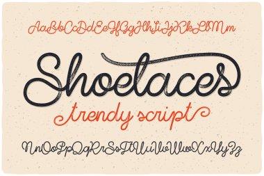 font script named