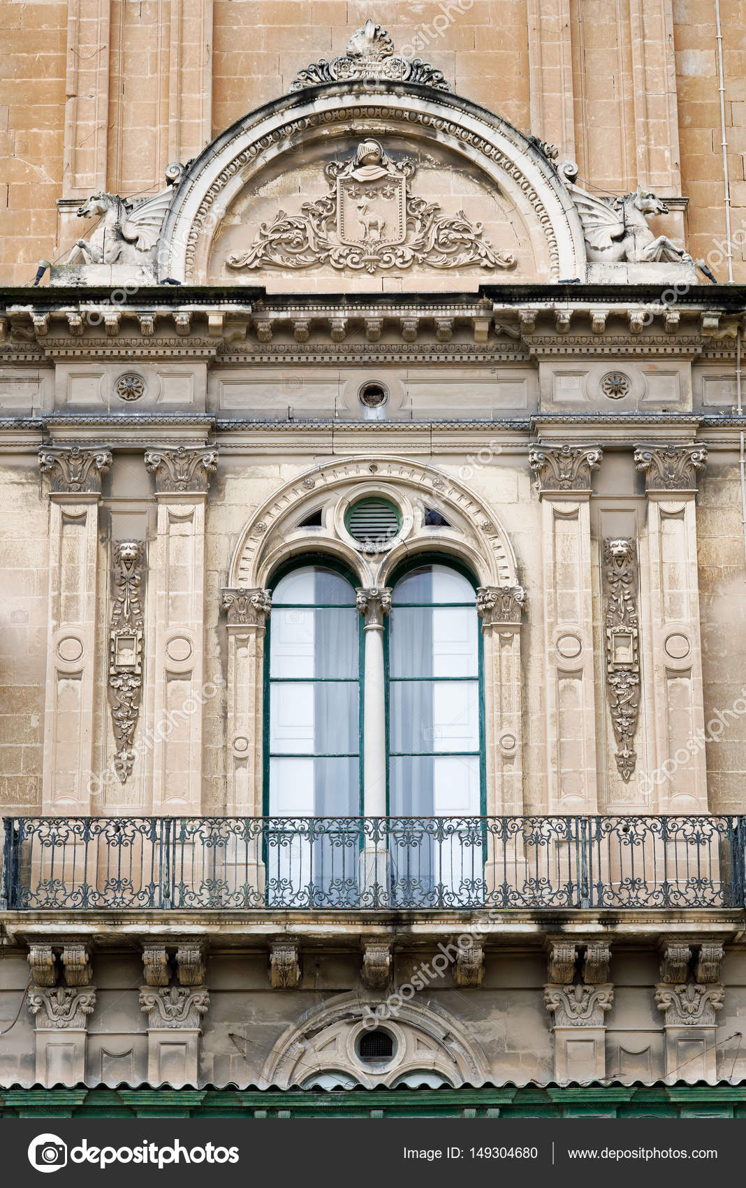 Balcony And Window In Mannerist Style High Renaissance At The Grand Masters Palace Valletta Malta Photo By Dani3315