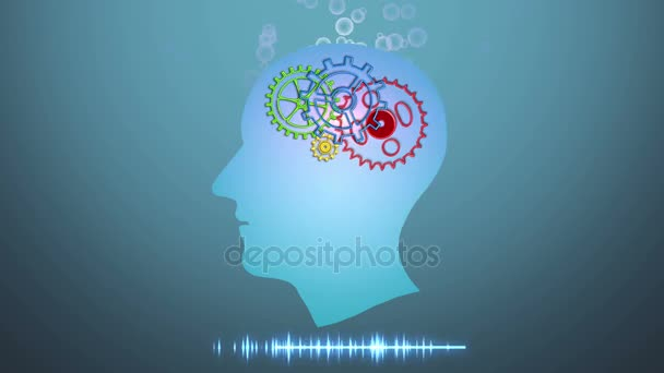 Brain works, Artificial intelligence (AI) and High Tech Concept