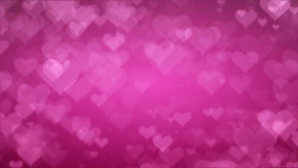Puha rózsaszín háttér szívét. Valentin-nap-koncepció
