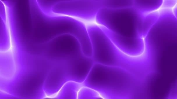 Folyó vonalak a ragyogó lila háttér