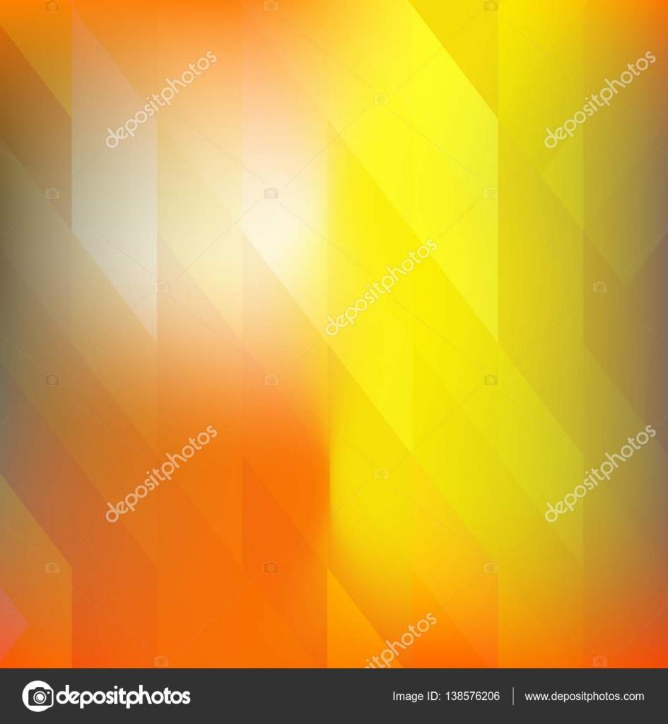 Hellen Orangepolygonal Mosaik Hintergrund, Vektor-Illustration ...