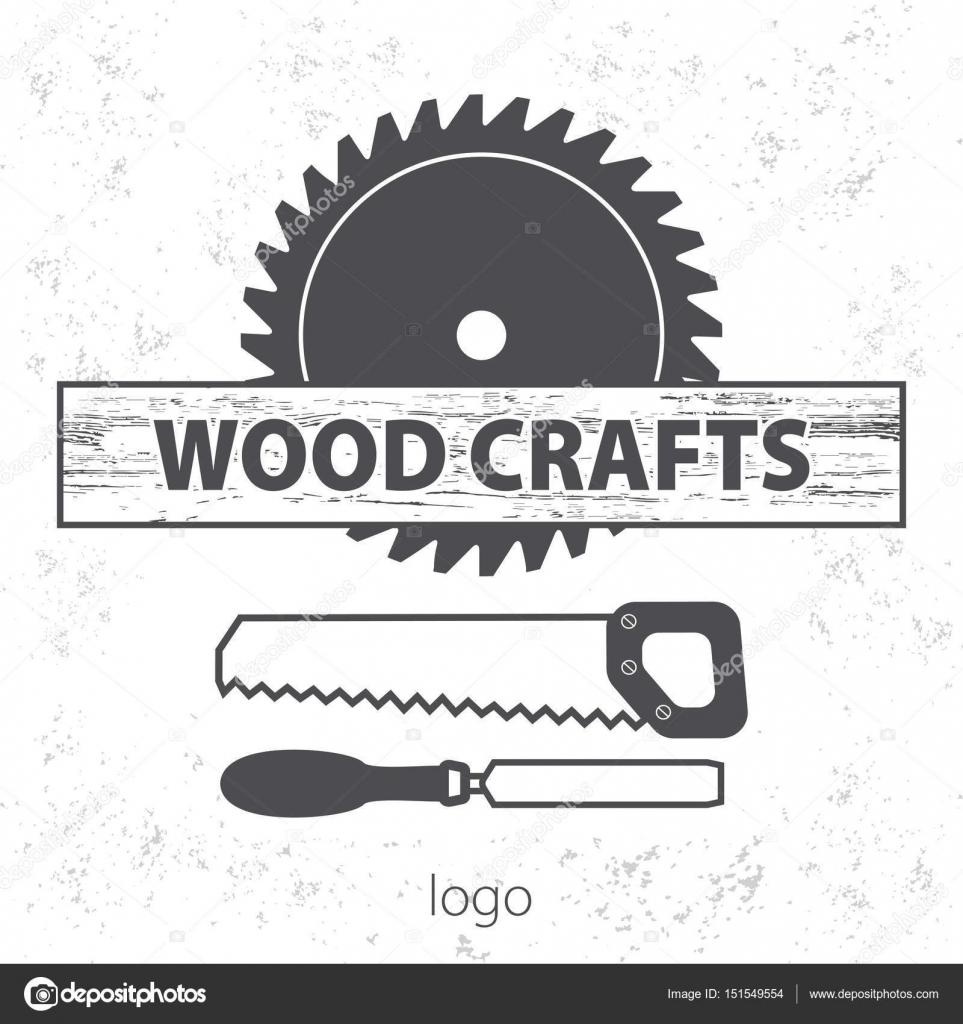 Wood Craft Logo Woodworks Professional Service Grange Print Stamp