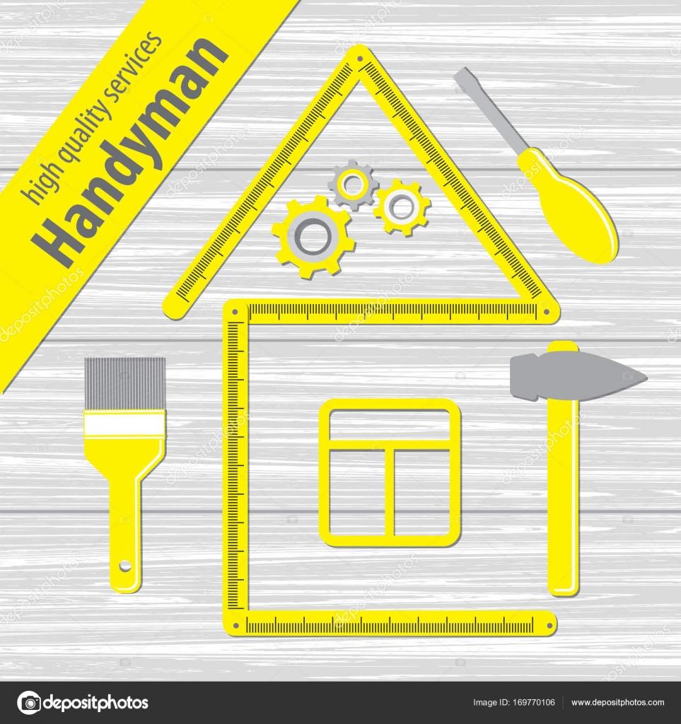 Professional Handyman Services  — Stock Vector © karinanh