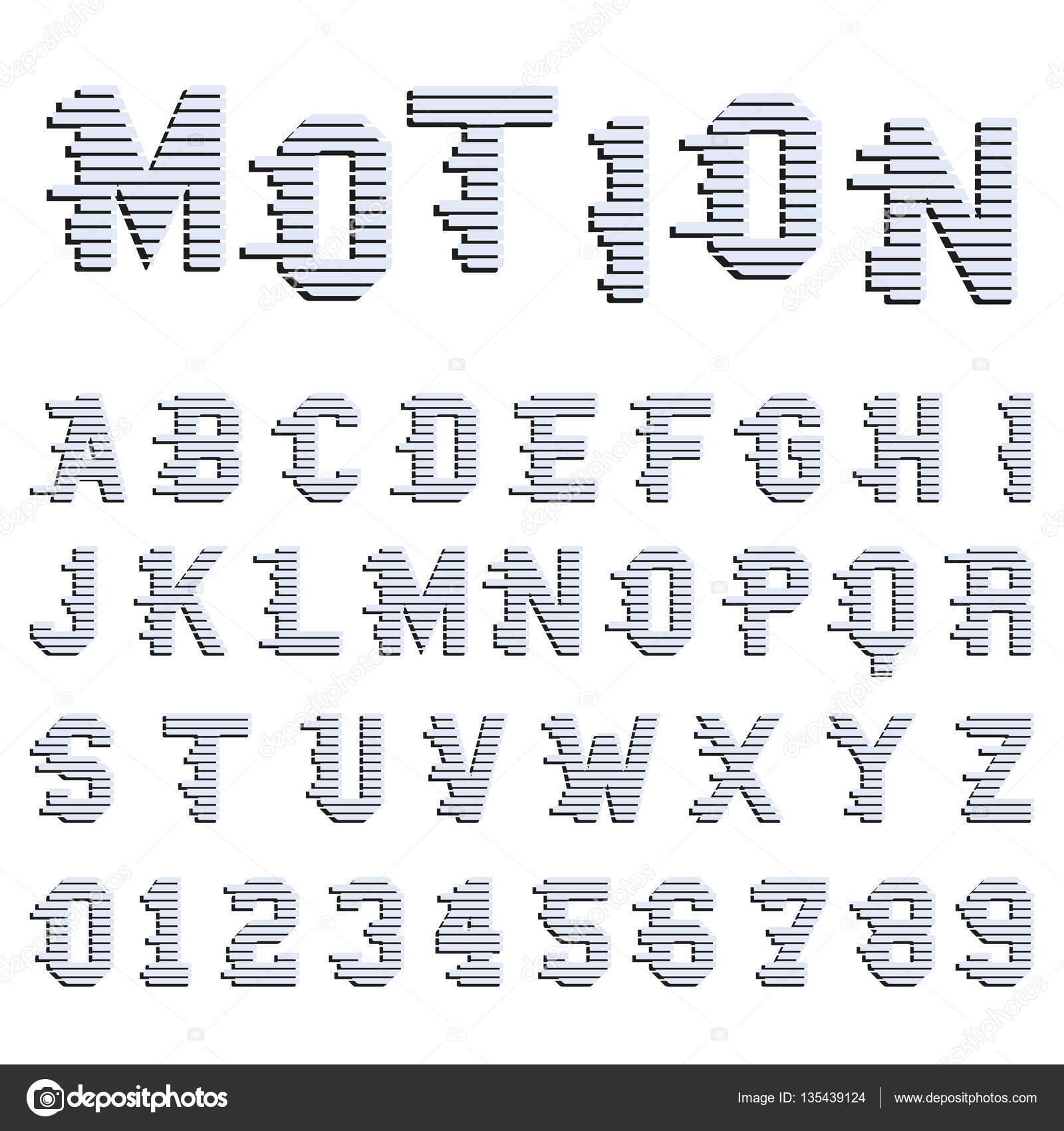 Diseño de propuesta de alfabeto — Archivo Imágenes Vectoriales ...