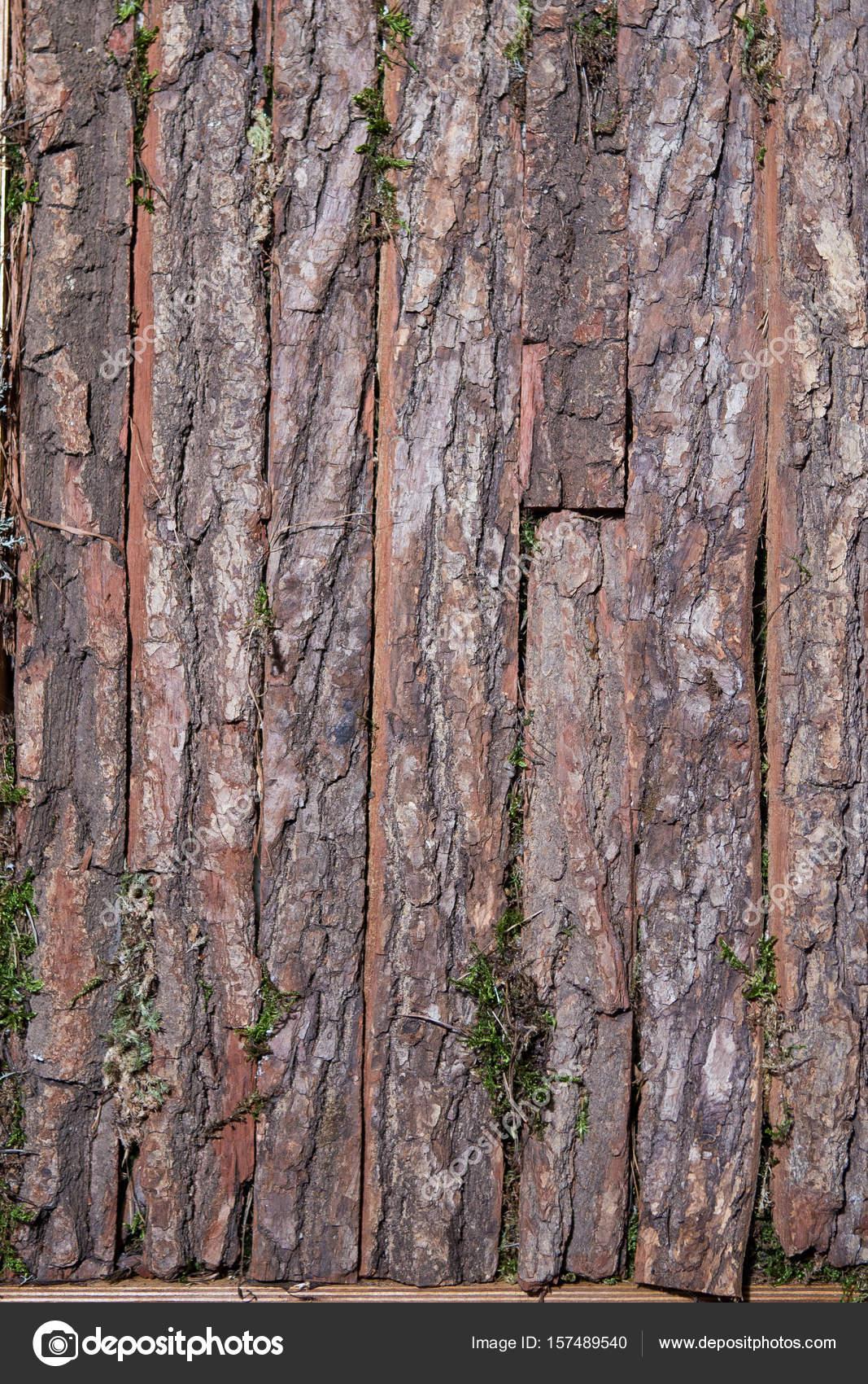 Teakbaum rinde  alte Holz Baum Texture Hintergrundmuster — Stockfoto © veloliza ...