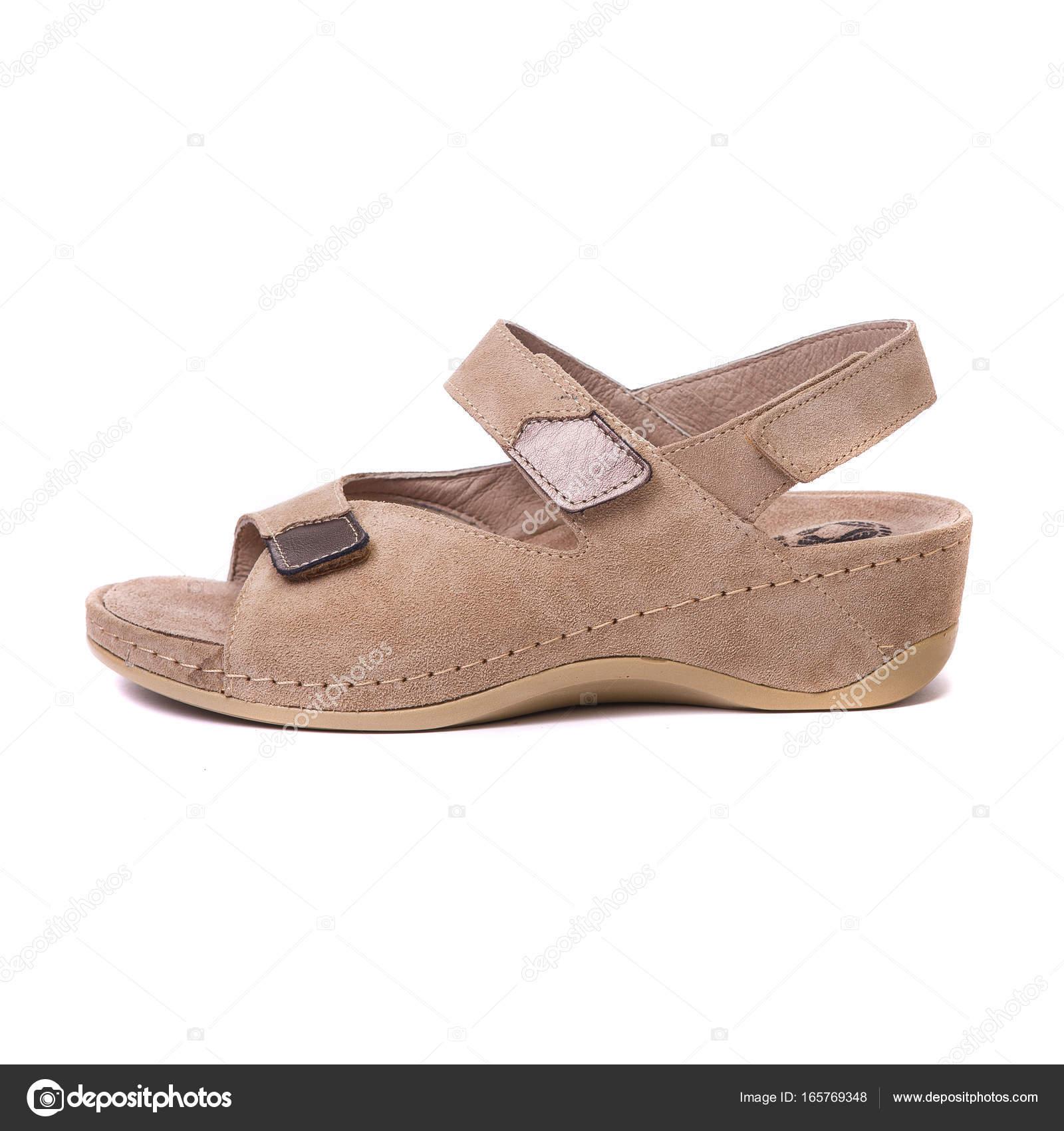 0333d9f9a Sapatos ortopédicos branco fundo isolado — Stock Photo © veloliza ...