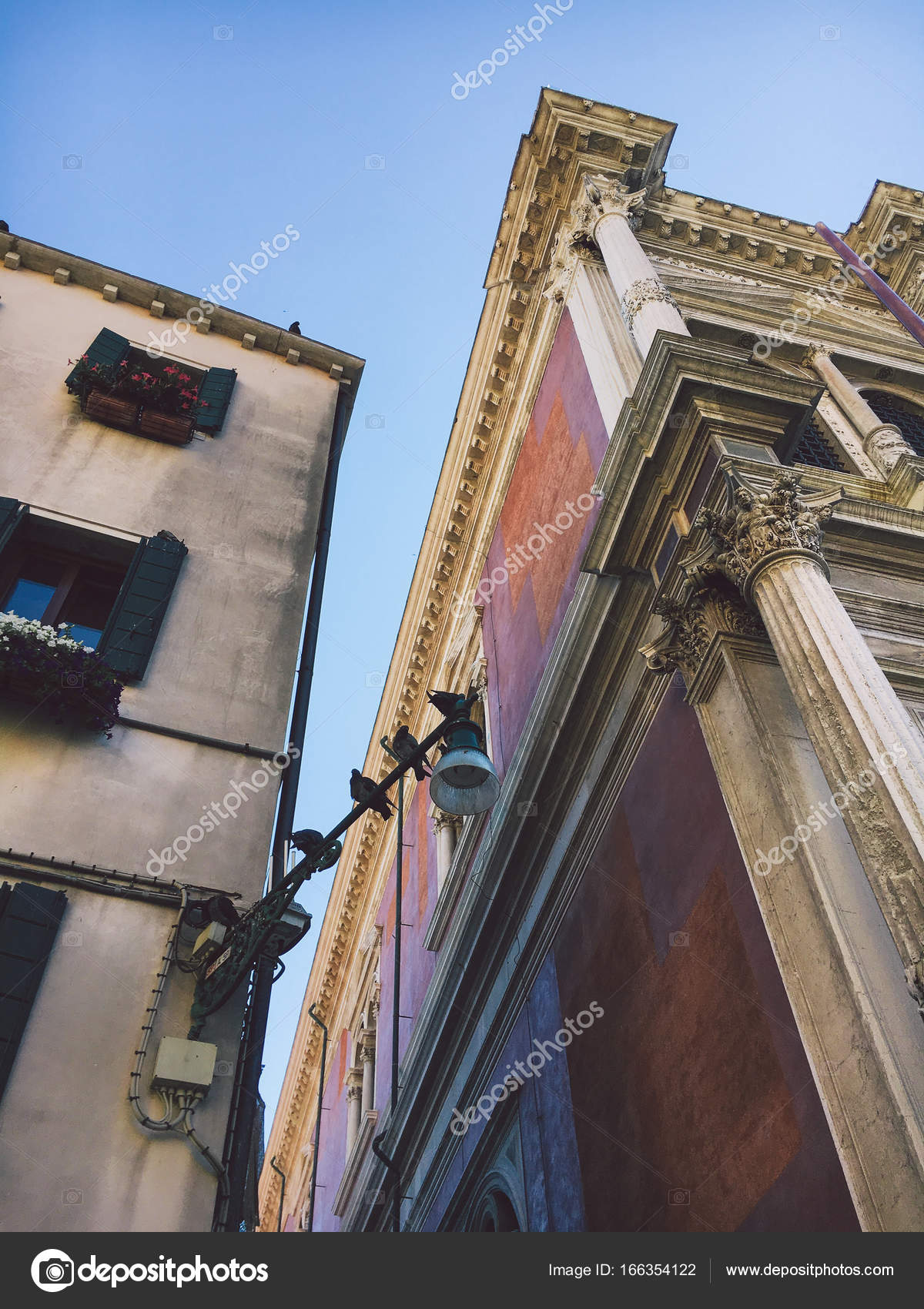 Architecture rues ancienne de venise panoramique for Architecture ancienne