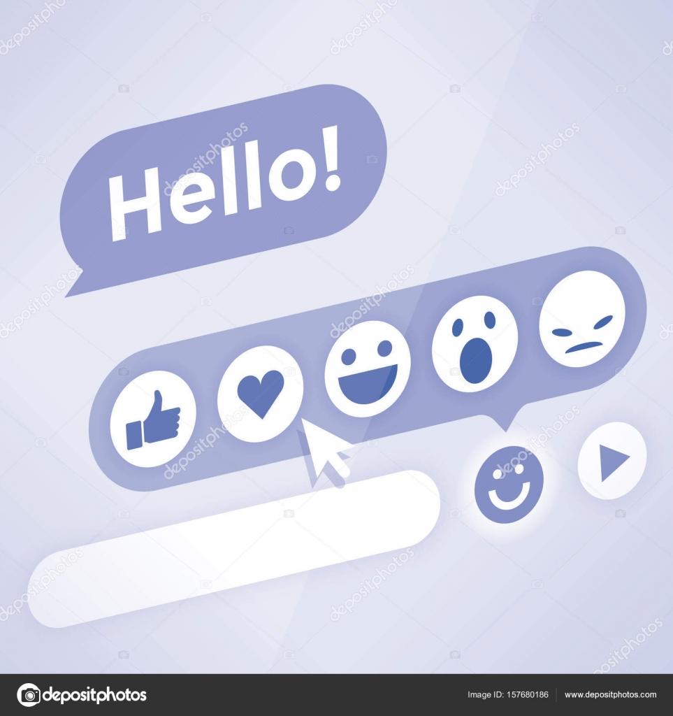 Online emotikony