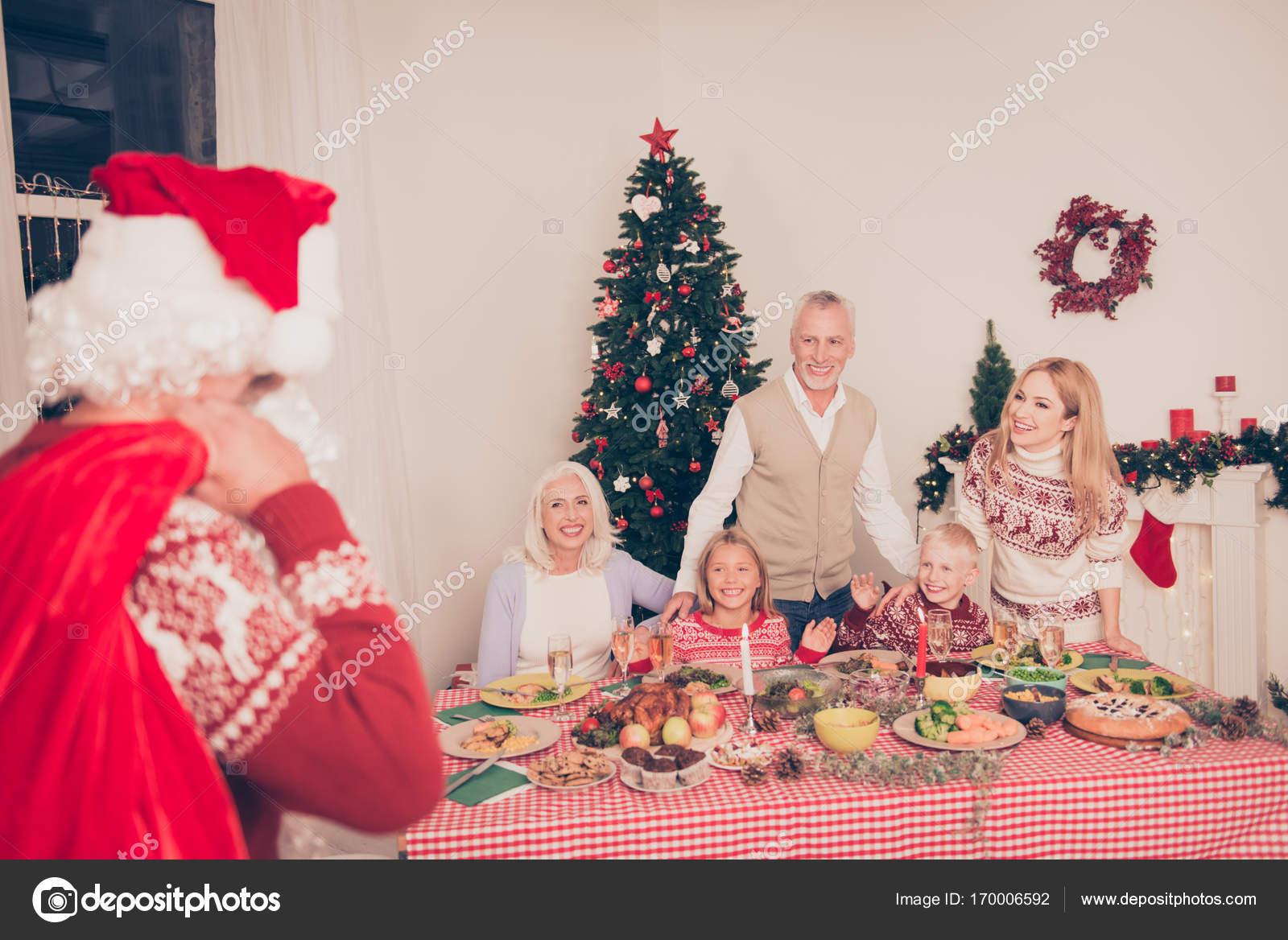 Ho ho ho! Santa came and brought presents gifts surprises! Cheer ...