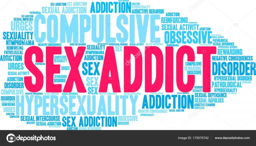 What is the word for an addiction to sex