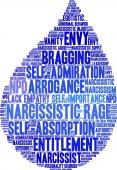 Narcissistic Rage Word Cloud