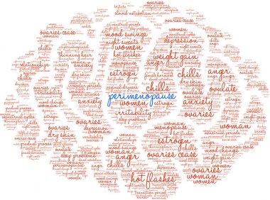 Perimenopause Word Cloud
