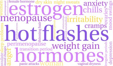 Hot Flashes Word Cloud