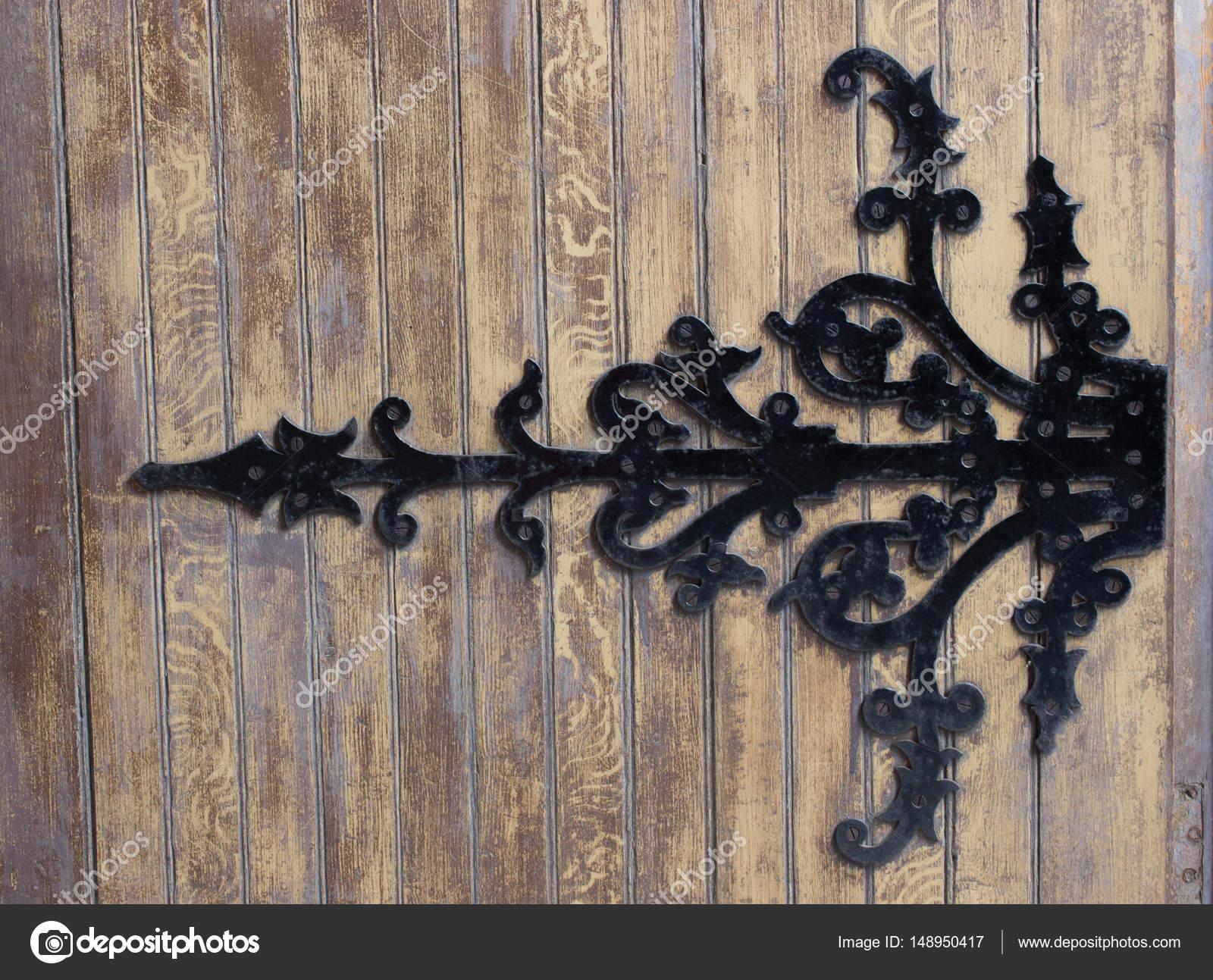 alte metall scharnier — stockfoto © lavinak #148950417