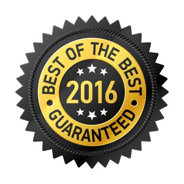 Best of the Best 2016 label