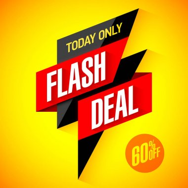 flash deal banner