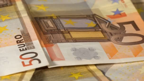 Euro Money on the table