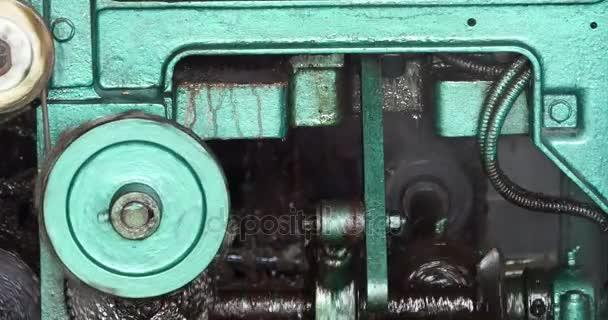 4 k složité přesnost průmyslu stroje v provozu, pracovní ložisko  osy